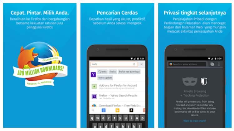 10 Browser Android Terbaik Cepat Dan Powerfull Diedit Com