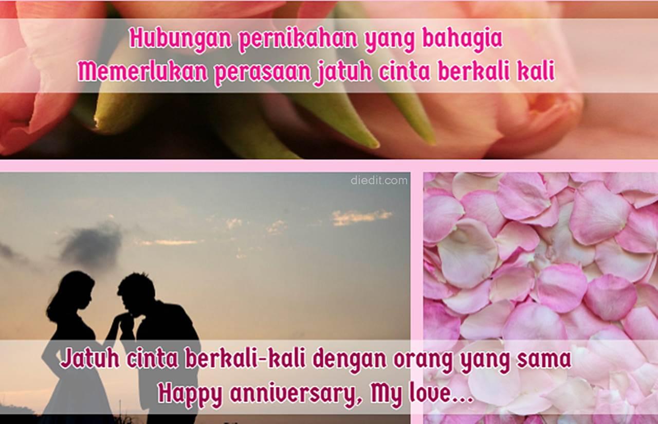 2 000 Kata Kata Anniversary Romantis Dilengkapi Pantun Diedit Com