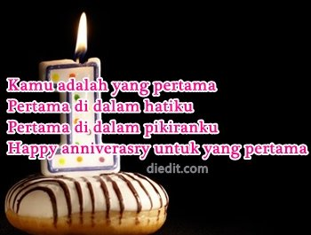 happy anniversary 1 tahun