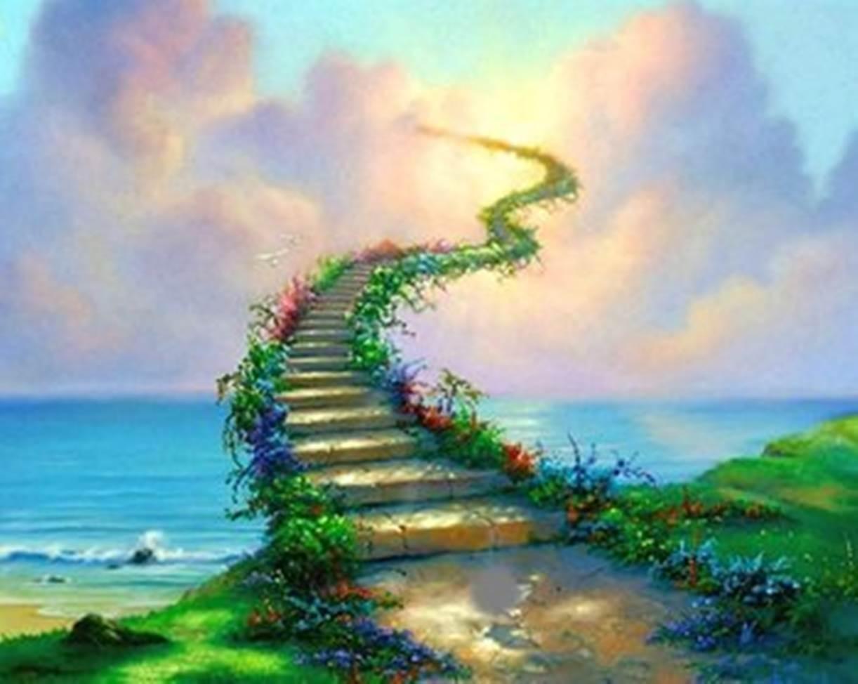 12 Gambaran Surga Allah Ilustrasi Suasana Dan Tingkatan