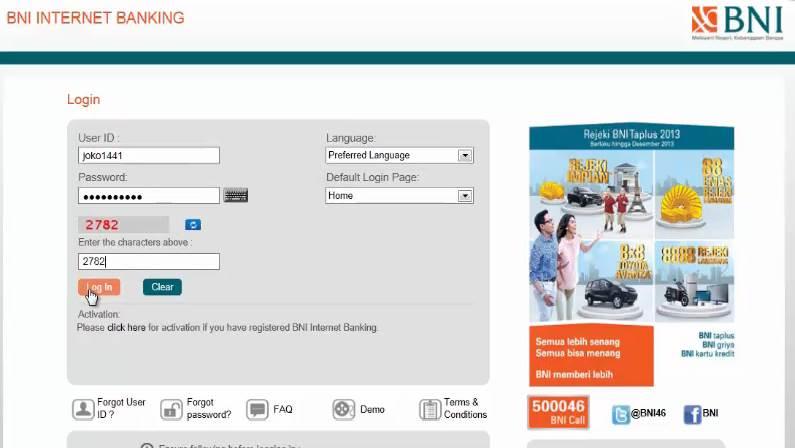 Cara Daftar Internet Banking BNI, Aktivasi Token, dan