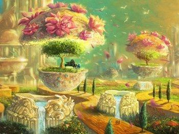taman istana surga