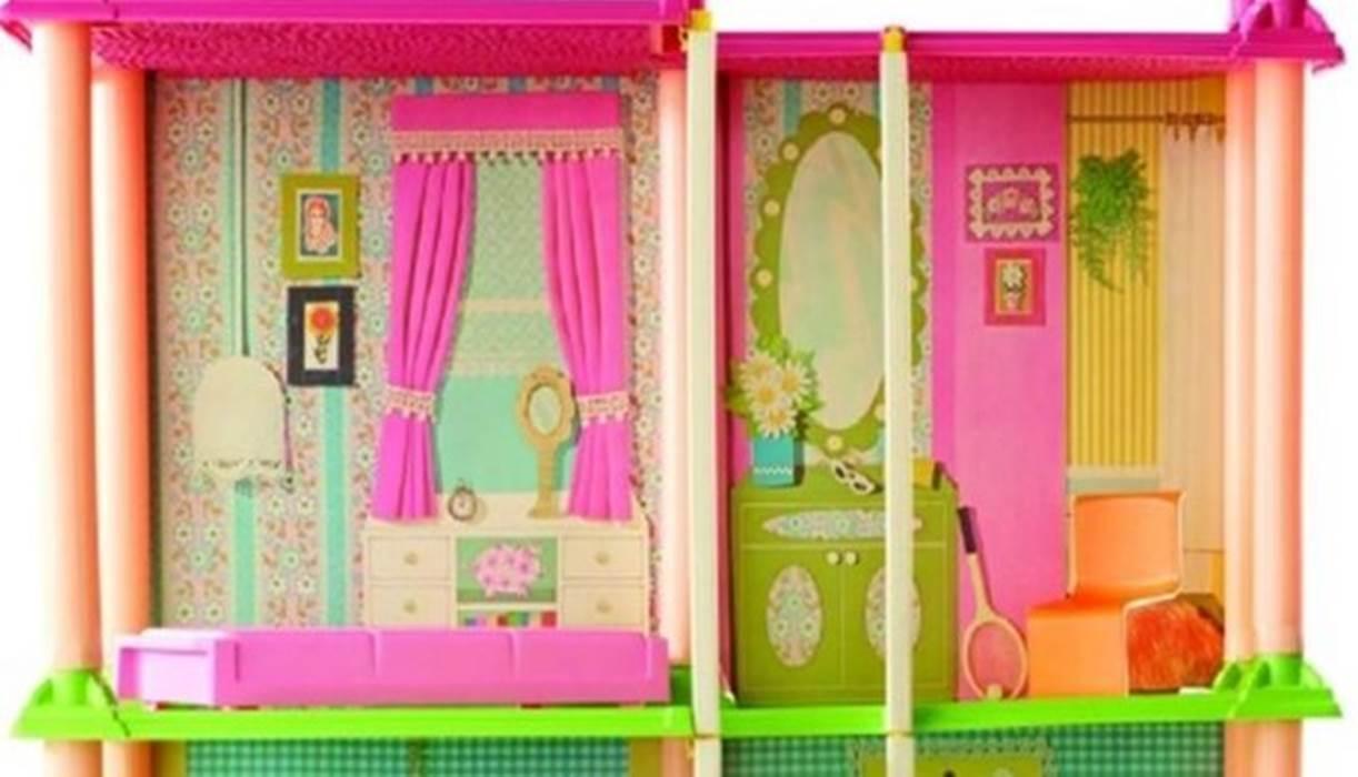 10 Rumah Barbie dengan Desain Cantik 60c6c9accc