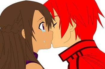 ciuman pertama