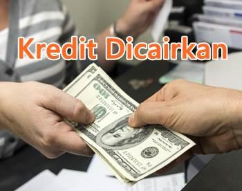 kredit dicairkan