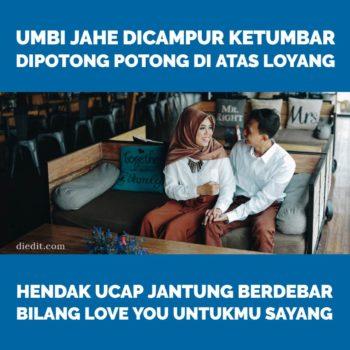 pantun sayang nyatakan cinta
