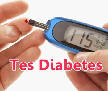 tes gula darah diabetes