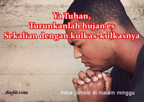 doa jomblo malam minggu