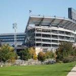 stadion kampus amerika