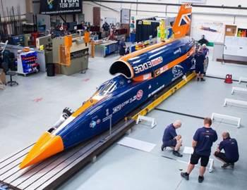 mobil jet tercepat di dunia