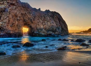 pantai california