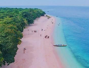 pantai pink filipina