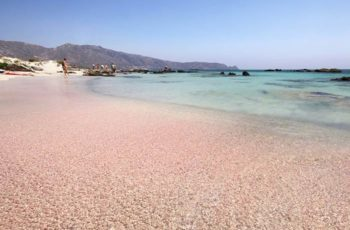 pantai pink elafonisi