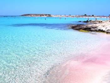 pantai pink italia