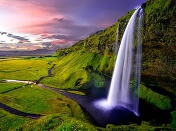 air terjun terindah islandia