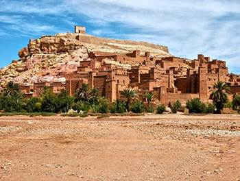 daratan negara maroko