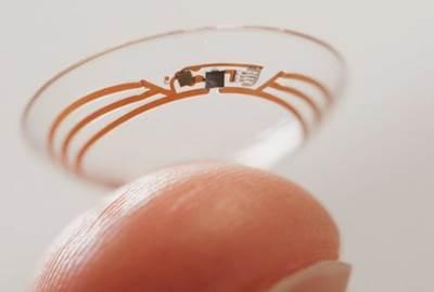 lensa kontak canggih