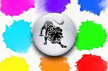 warna keberuntungan leo