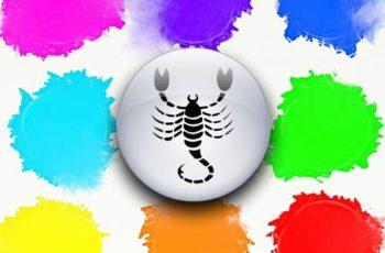 warna keberuntungan scorpio