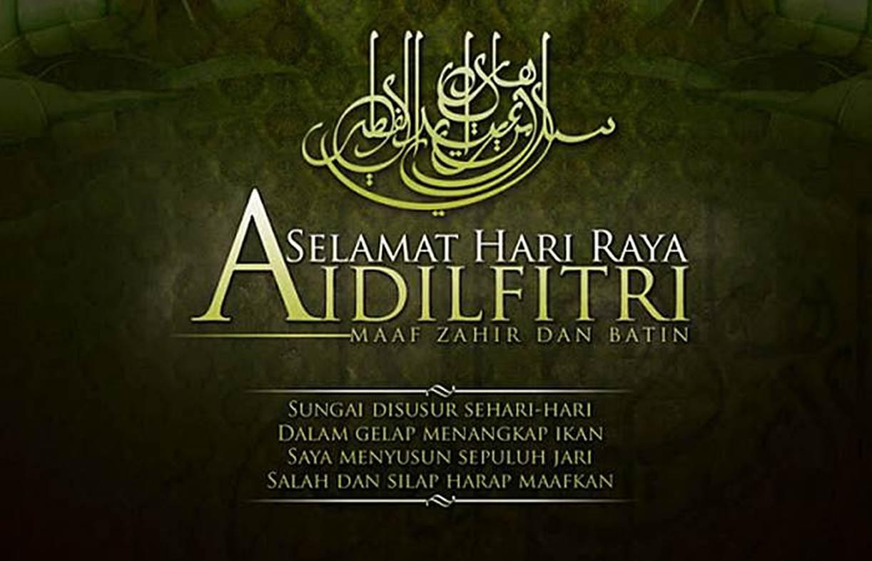120 Ucapan Idul Fitri Terindah Dilengkapi Pantun Lebaran Diedit Com