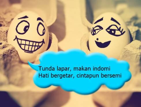 pantun cinta lucu