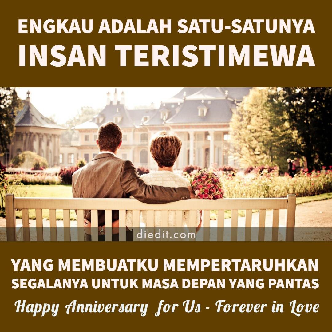 2 000 Kata Kata Anniversary Romantis Dilengkapi Pantun