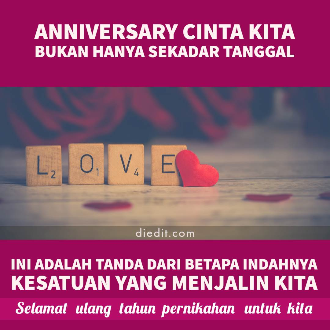 100 Gambar Ucapan Happy Anniversary Romantis 2020 Dit