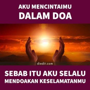 kata cinta dan doa