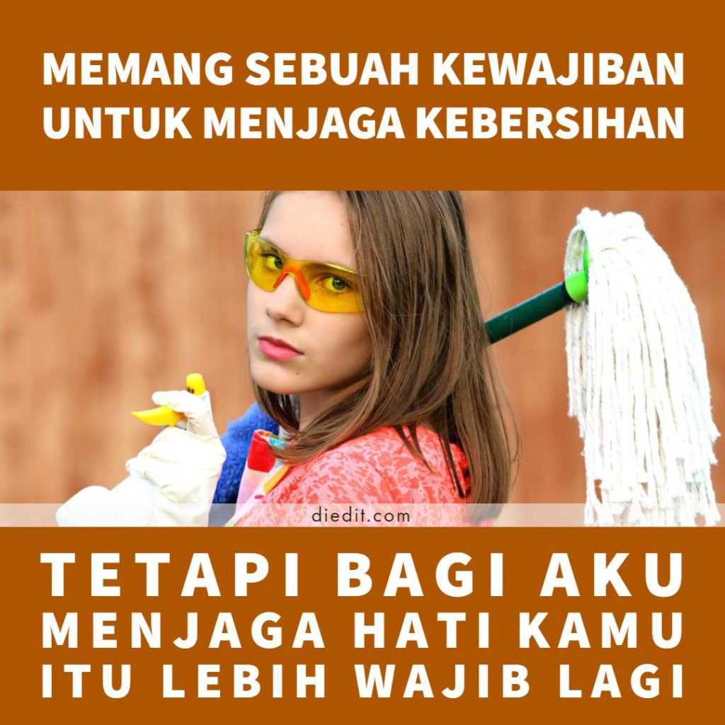 kata kata cinta bersih