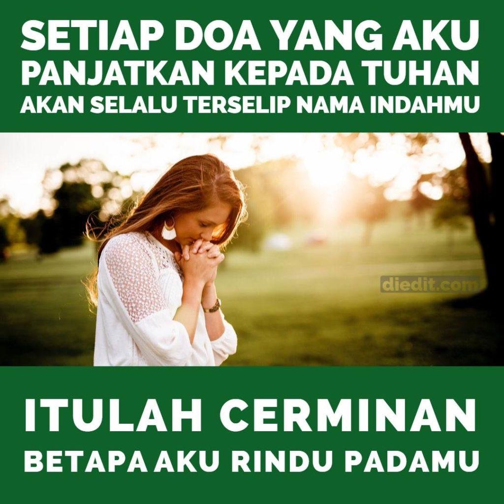 kata kata rindu dan doa