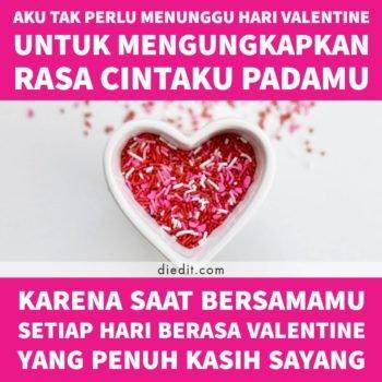 kata kata indah valentine