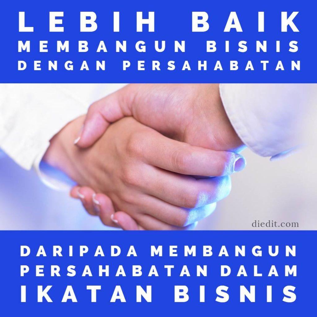 kata persahabatan bisnis