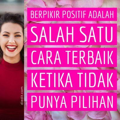 kata kata pikiran positif