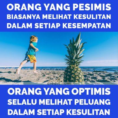 kata kata optimis melihat kehidupan