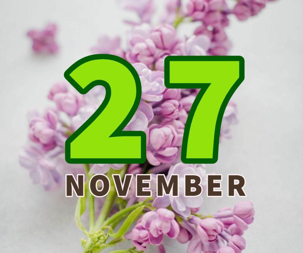 lahir 27 november