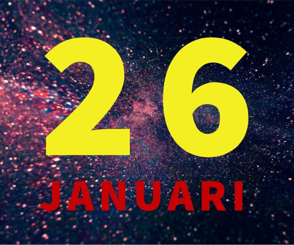 lahir 26 januari