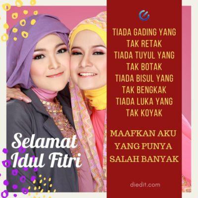 55 Kartu Ucapan Idul Fitri Terbaru 1442 H Download Share Diedit Com