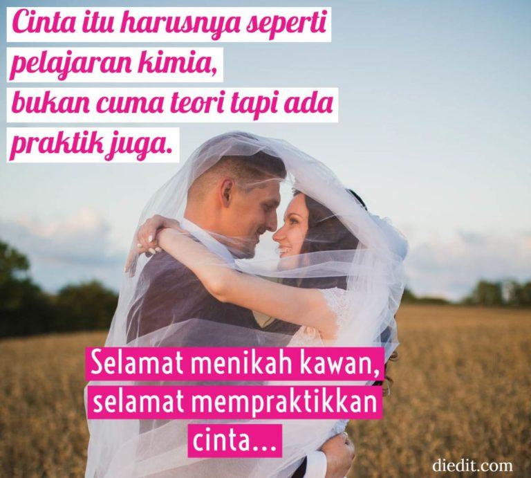 ucapan pernikahan simple