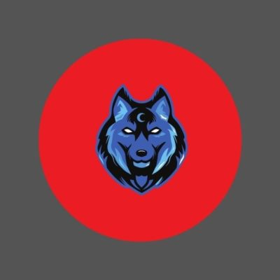 logo keren kepala anjing