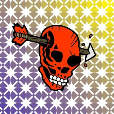 logo keren kepala tengkorak