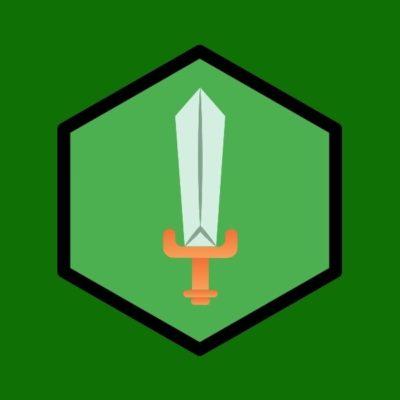 logo keren pedang