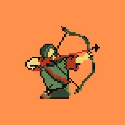 logo keren pemanah
