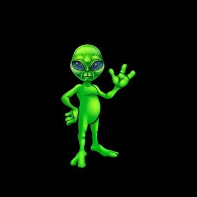 logo keren alien