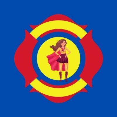 logo keren superhero wanita