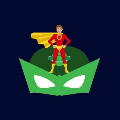 logo keren pahlawan super