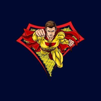 logo keren superhero
