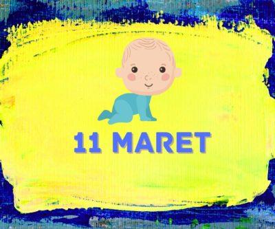 karakter lahir 11 maret