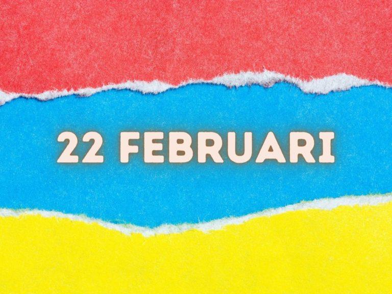 lahir 22 februari