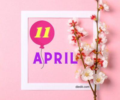 karakter watak 11 april