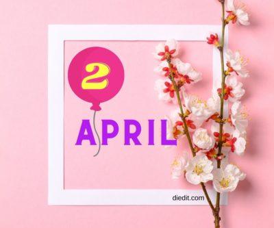 karakter kelahiran 2 april